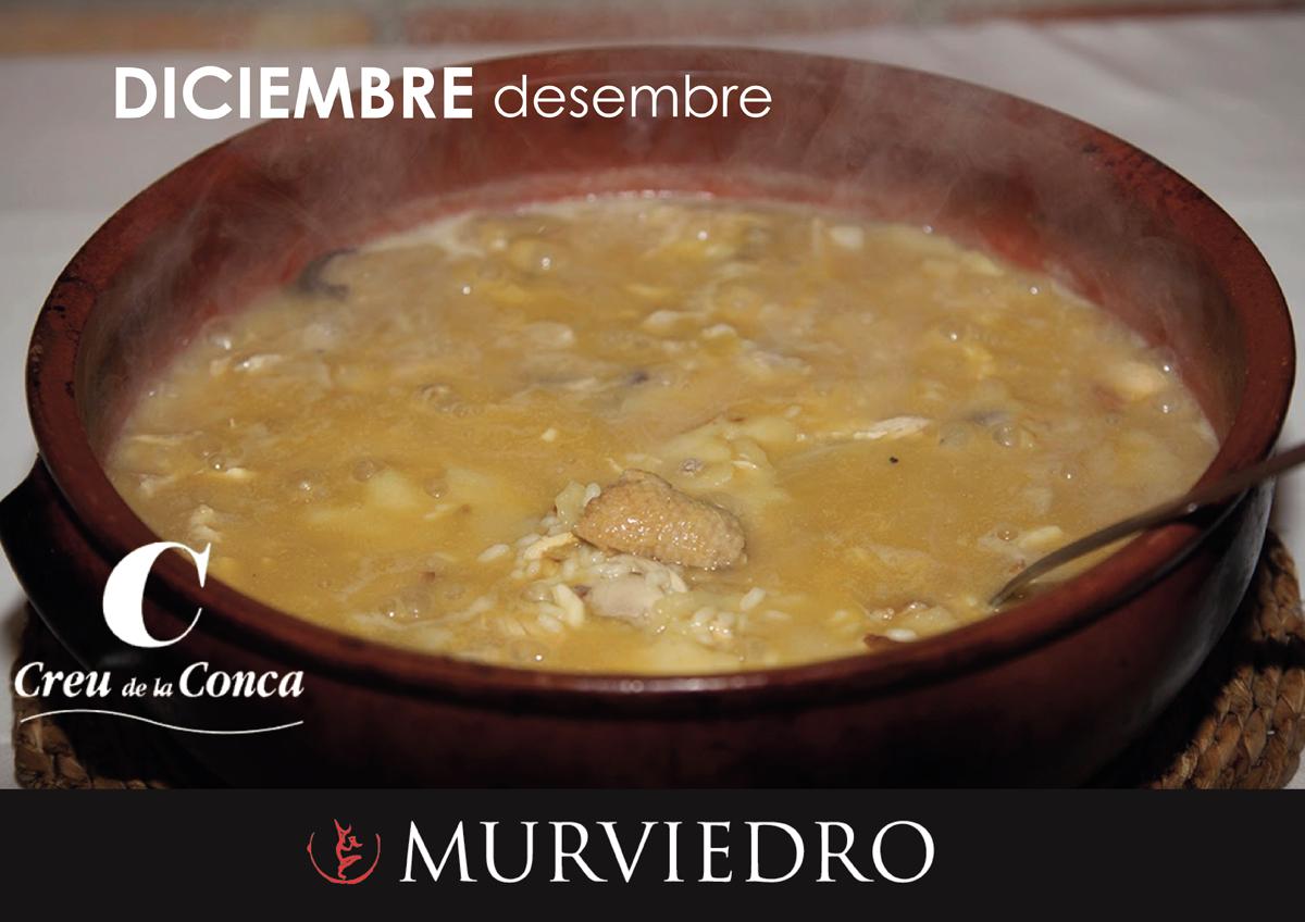 Creu de la conca con el gastrondario de fem terreta - Restaurante mediterraneo pinedo ...